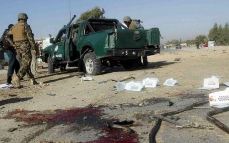 Bomb attacks kill 5 policemen in Afghanistan