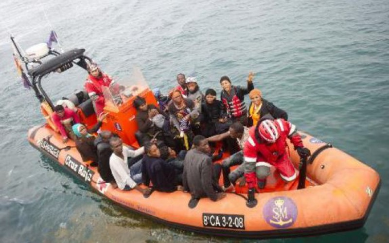 150 migrants rescued off Spanish coast over several days