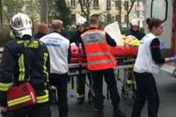 Shooting at French magazine office kills 12, injures 11