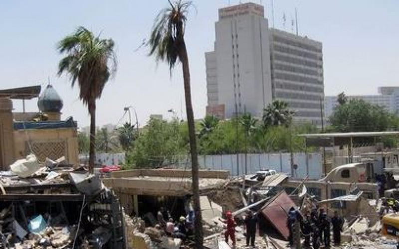 At least 34 killed in three bombings in Baghdad, 50 people were wounded