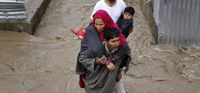 Flood alerts issued in Kashmir as rivers cross danger mark