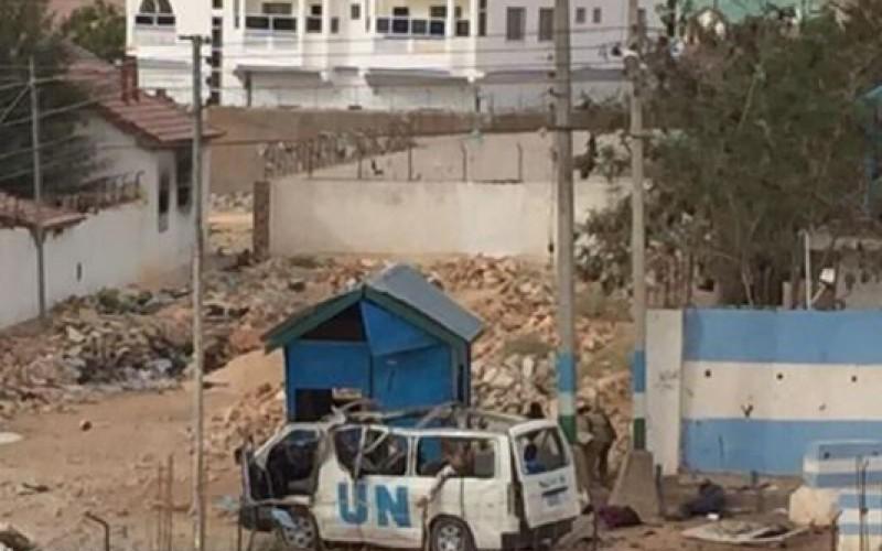 Six killed as bomb attack targets UN bus in northeastern Somalia