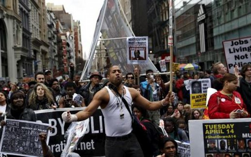 Protests in U.S. cities against police violence prompt arrests