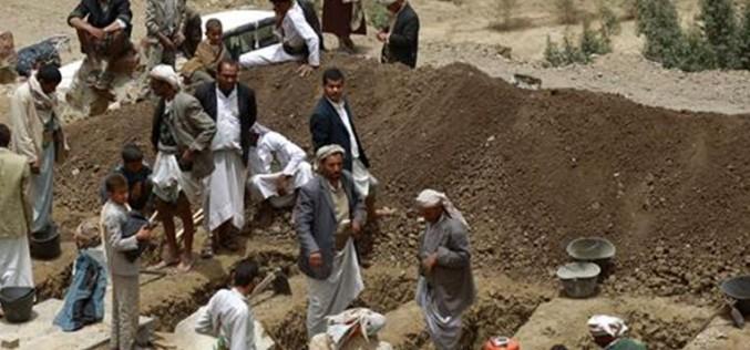 Saudi airstrikes kill 5 family members west of Yemen's capital