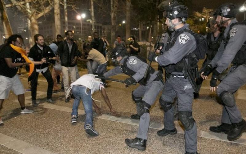 Ethiopians nabbed in demos say abused by Israeli police