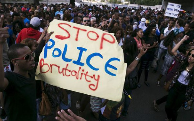 Hundreds of Ethiopian Jews protest in Israel