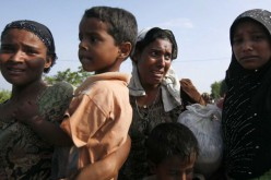 The Latest on Rohingya: UN estimates 3,000 still adrift