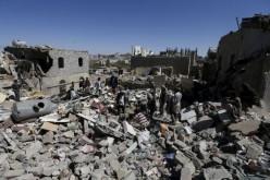 Saudi-led air strikes hit Yemen's capital Sanaa: residents