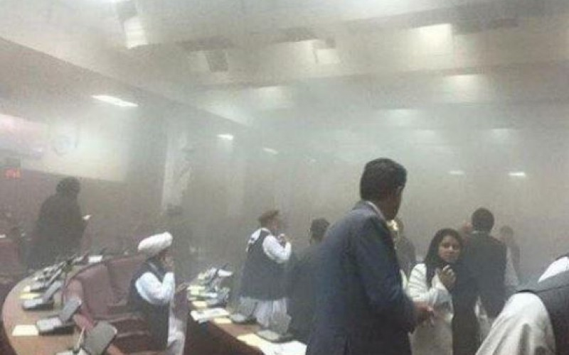 Attack on Afghan parliament