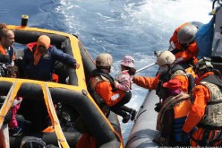 EU coast guards rescue nearly 6,000 Mediterranean refugees over 48 hours