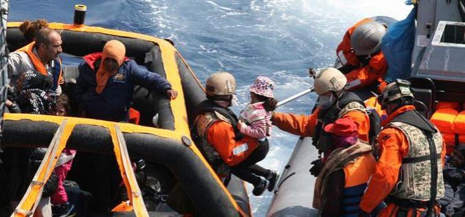 EU coast guards rescue nearly 6,000 Mediterranean refugees over 48 hours