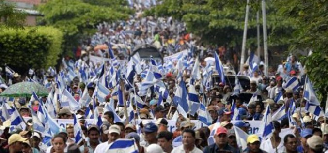 1000s of Nicaraguans protest controversial canal project
