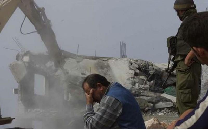 Israelis demolish 15 Palestinian homes in West Bank's Ramallah