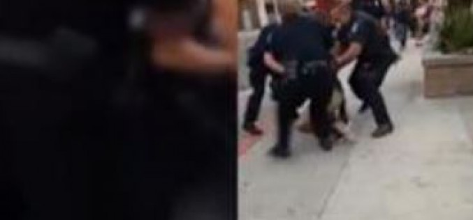 California police under fire over jaywalking arrest and abuse of black teen