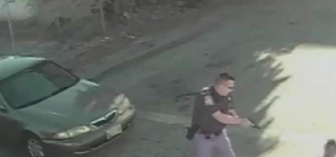 US :Video footage shows Maryland police kill another unarmed black man