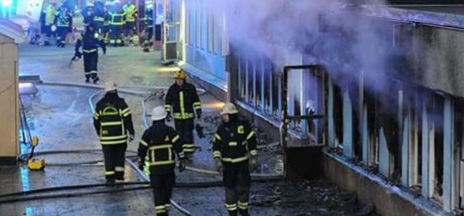 Sweden : 'Arson attack' destroys planned refugee home