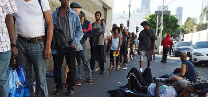 US: More than 500,000 Americans homeless
