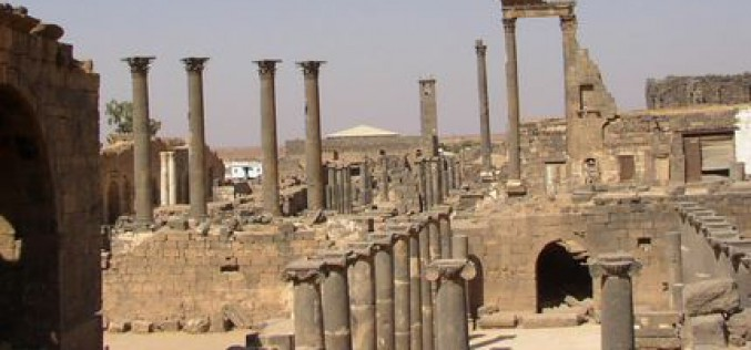 Syria: UN condemns archaeological destruction at major World Heritage site of Bosra