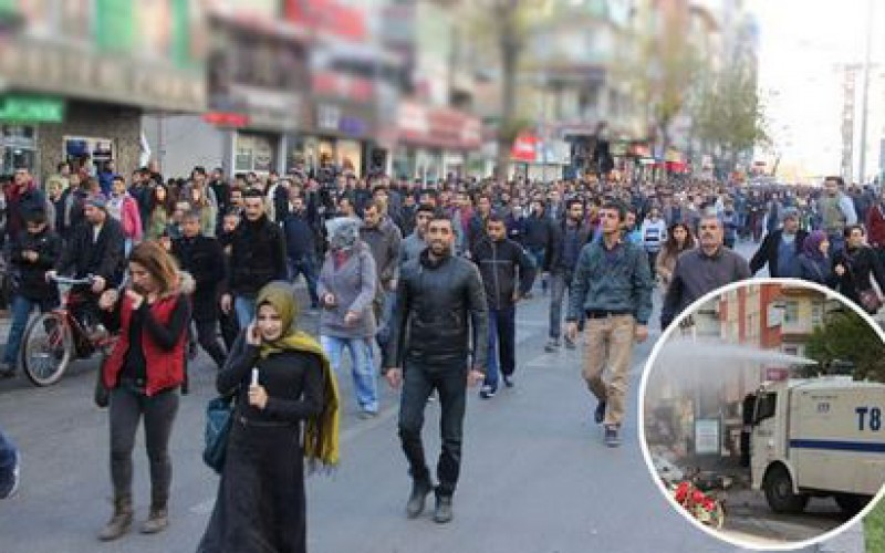 Violence in Diyarbakir as Turkish crackdown on PKK continues