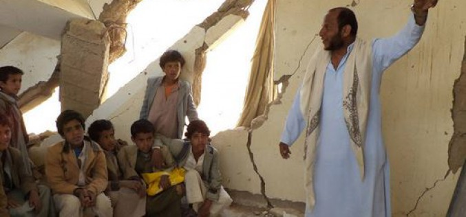 Yemen: Seven Yemenis killed, 12 injures in Saudi airstrike