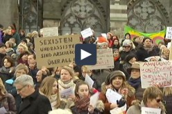 Germany: women take to the streets of Cologne