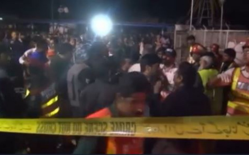 Pakistan: sixty dead in an attack against a playground