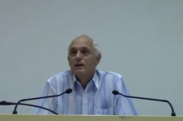 Conference: Professor Oberlin returned from Gaza -video