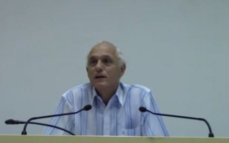 Conference: Professor Oberlin returned from Gaza -video