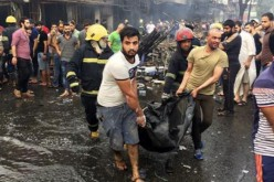Iraq: Death toll from dawn blasts in Iraq capital jumps to 83