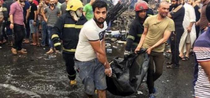 Iraq: Death toll from dawn blasts in Iraq capital jumps to 83