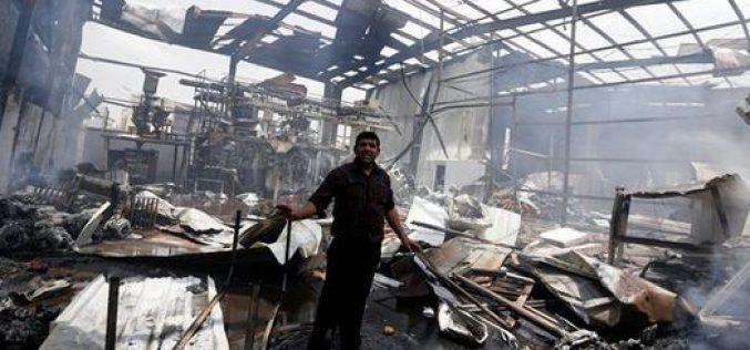Yemen: the Saudi regime raids target civilian infrastructure, at least 30 dead