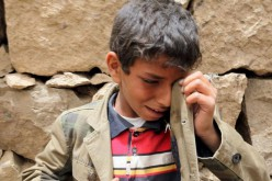 "For UN, children continued to pay a heavy price in war, ""In Yemen, six times more children were killed and mutilated in 2015 than the previous year"""