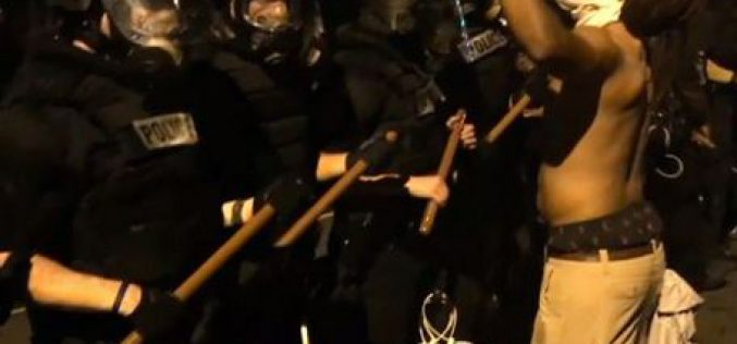 USA: violent demonstration after the death of a black man shot by police
