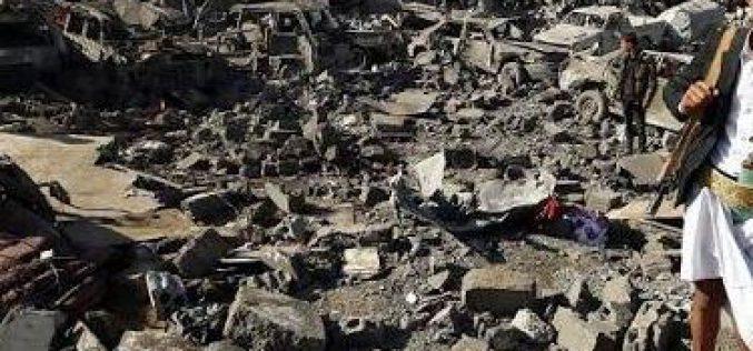 Yemen: Saudi warplanes raid the capital