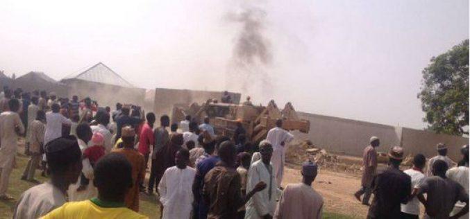 Nigeria: Authorities have begun demolishing properties of the Shia minority