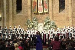 Lebanon: Shia women's choir singing Christmas in a church