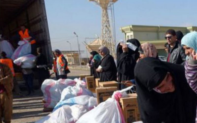Iraq: more than 144,500 people displaced because of the Battle of Mosul (IOM)
