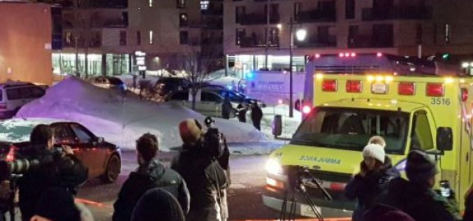 Terrorist attack in Canada: At least 6 dead in a attack on mosque