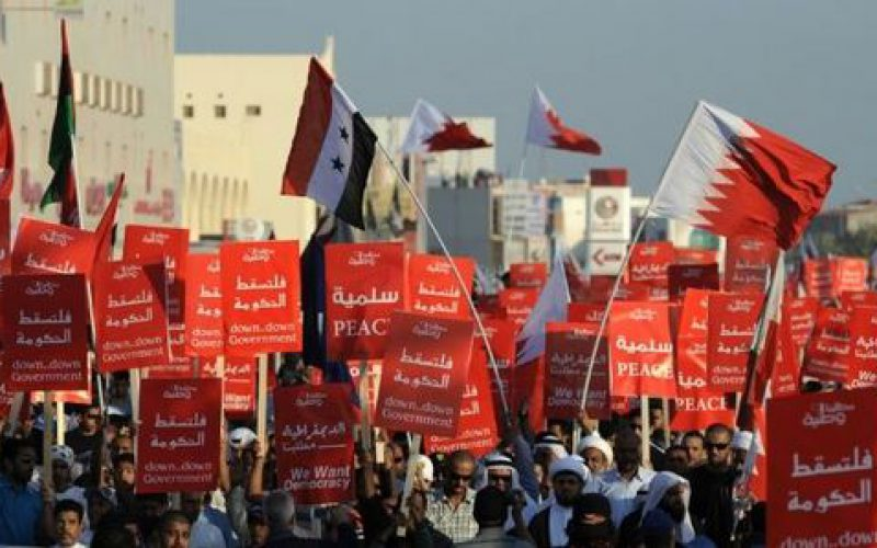 Bahrain: protesters shot dead, dozens injured