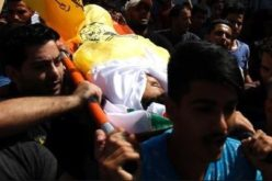 Gaza: Funeral of Palestinian child killed by Israeli soldiers