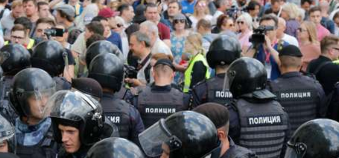 Moscow: Russian opposition back on the street to demand free elections