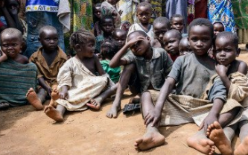 """The lives and futures of more than three million displaced children are at risk in the DRC as the world looks the other way,"" UNICEF warned"