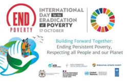 The Virtual Commemoration of the International Day for the Eradication of Poverty (IDEP) 2021