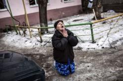 Twelve people, including seven civilians, killed in east Ukraine