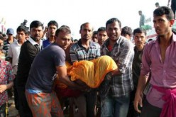 The sinking of a ferry in Bangladesh, at least 38 dead