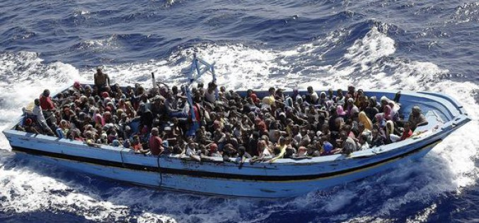 African migrants risk all in the Mediterranean Sea