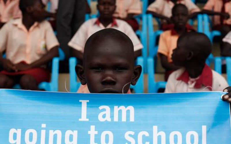 UN campaign aims to educate children forced out of school by war in South Sudan