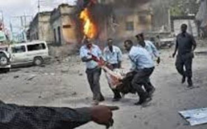 Somalia police: 9 killed by car bomb in capital