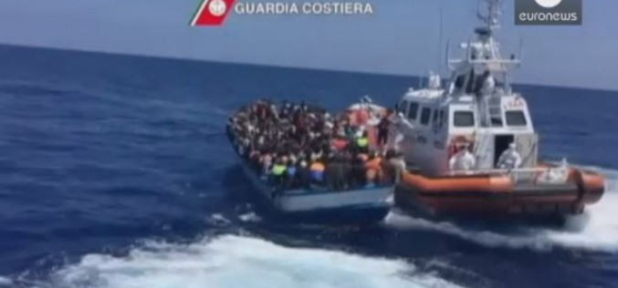 Coastguards rescue 3,700 Mediterranean migrants in two days