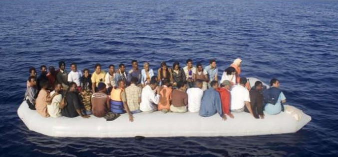 Dozens of African migrants feared drowned off Libya